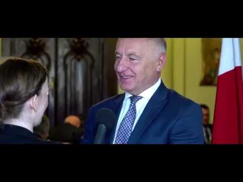 Marek Kwiatkowski podczas posiedzenia Zarządu Związku Powiatów Polskich.