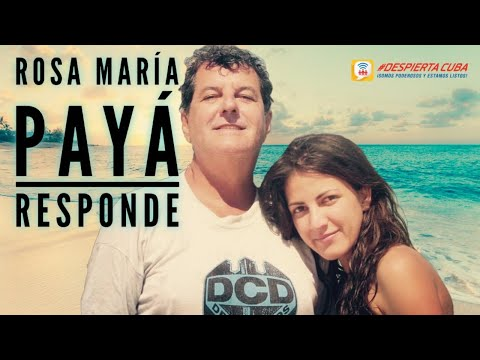 Última Hora! Rosa María Payá Responde!