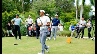 Tiger Woods STINGER CHALLENGE With Team TaylorMade | TaylorMade Golf thumbnail