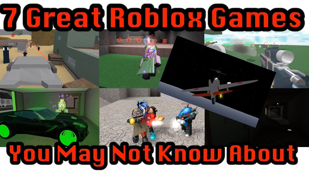 what are some good roblox games