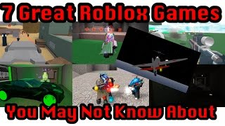 7 Great Roblox Games That You May Not Know About