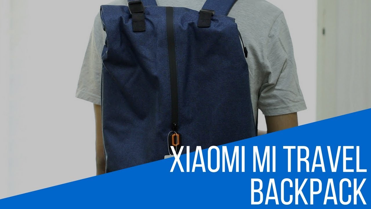00edbac4cd Xiaomi Mi Travel Backpack Review - YouTube