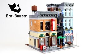 Lego Creator 10246 Detective's Office - Lego Speed Build thumbnail