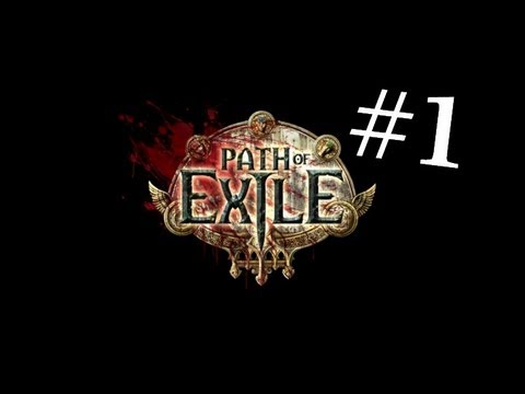 Path of Exile | let´s play | SK | /w Moony , Mandragora , Asimister | #1 Blúuudenie