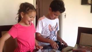 UNBOXING QUICKSAND & VOLCANO DE KIDZLABS