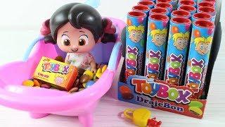 Niloya Bonibon Banyosu Yapıyor Toybox Bonibon Renkli Şeker Banyosu Niloya Çizgi Film
