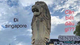 Vlogs #01 - Những Điều cần biết khi đi du học và lao động ở Singapore.