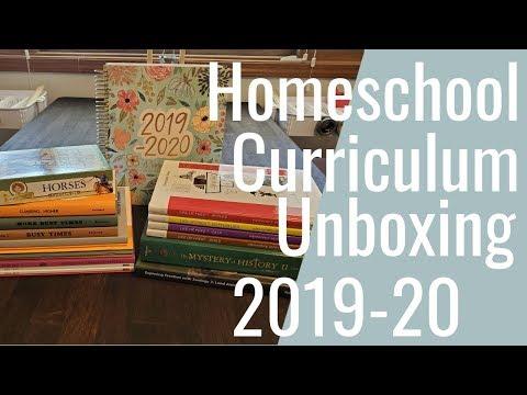 Homeschool Curriculum Unboxing 2019-20 Rainbow Resource