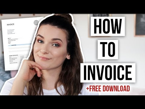 How To Invoice Clients & Avoid Late Payments   FREE Invoice Template