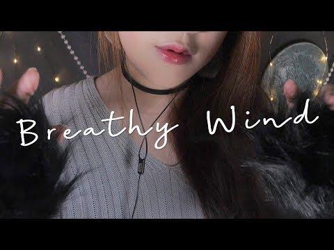ASMR Breathy Wind 🌙
