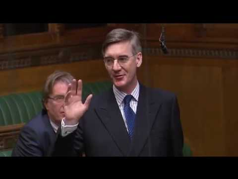 Jacob Rees-Mogg and Anna Soubry clash in the House of Commons