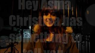 Christina with a special message