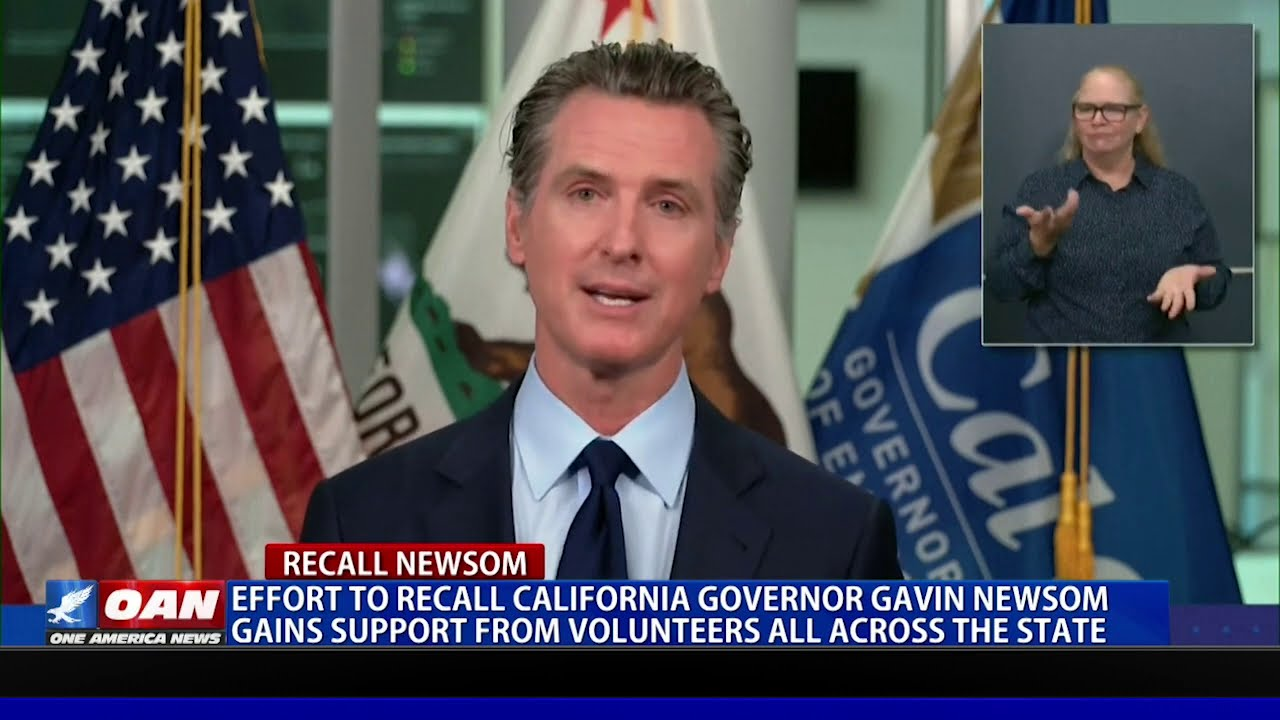 Effort to recall Gov. Newsom gains support from volunteers across the state