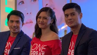 KIM CHIU reveals experiencing one-sided love (ONE GREAT LOVE media launch)