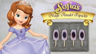 Sofia's Magical Amulet Berry Frozen Yogurt Pops | Disney