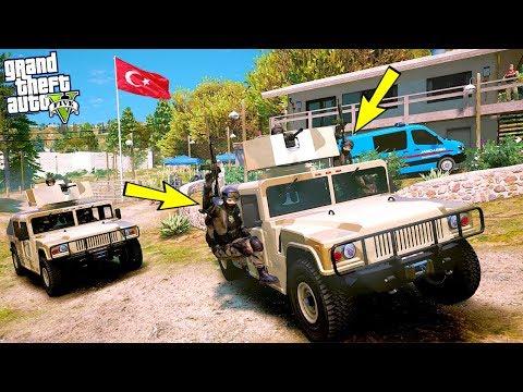 POLİS ÖZEL HAREKAT KARAKOLU BASAN MAFYALARA ODUNU VERİYOR! - GTA 5