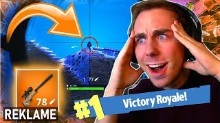LEGENDARY SNIPER SKILLS! | FORTNITE