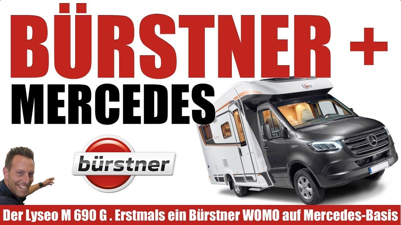 Top Wohnmobil. Bürstner Mercedes Lyseo M 10 10. Sprinter-Basis.  Automatik. Schwenkbad.