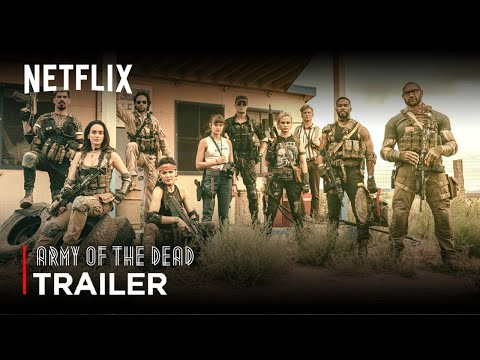 Army Of The Dead (2021) Zack Snyder Movie TEASER TRAILER   Netflix