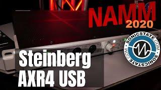 NAMM 2020: Steinberg AXR4 USB
