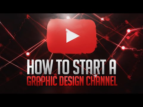How to Start a Graphic Design Channel on YouTube 2017! (Equipment/Software)