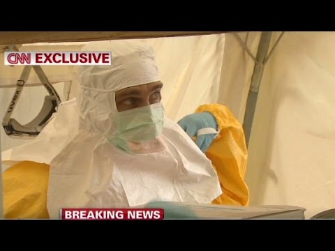 David McKenzie travels into the Ebola epicenter