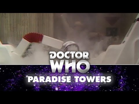 Doctor Who: The Cleaners attack the Doctor - Paradise Towers