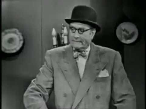 The Red Skelton Hour ~ Harpo Marx ~ Somebody Up There Should Stay Up There