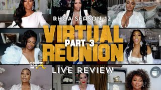 The Real Housewives of Atlanta Season 12 Episode 26 | Reunion Part 3 | LIVE REVIEW