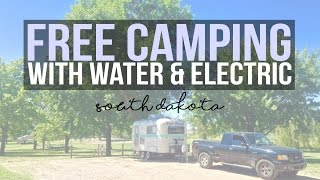 Free Camping in South Dakota - Hieb Park, Marion - a Drivin' & Vibin' Travel Vlog