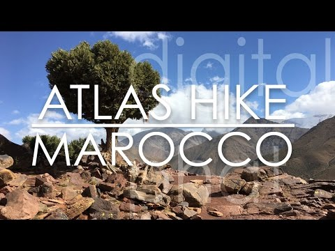 Atlas Valley Trek- Hiking at Imlil Marocco