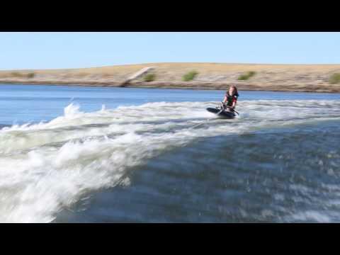 Fynn's Kneeboarding Debut