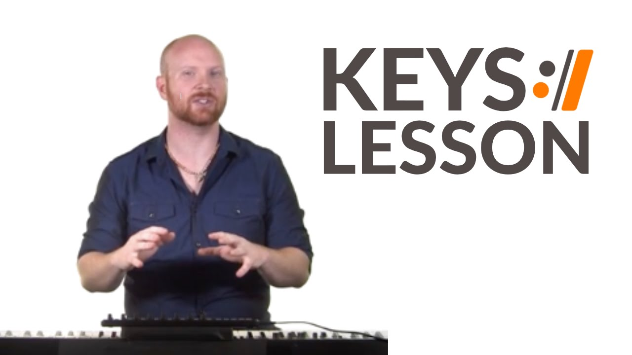 A Christmas Alleluia - Chris Tomlin // Keyboard Tutorial - YouTube