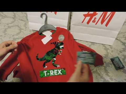 H&M обзор детских новогодних свитеров для мальчиков Изучаем туркменский язык