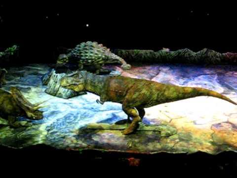 setnja sa dinosaurusima sinhronizovano