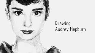 오드리헵번 그려보자 Drawing Audrey Hepb…