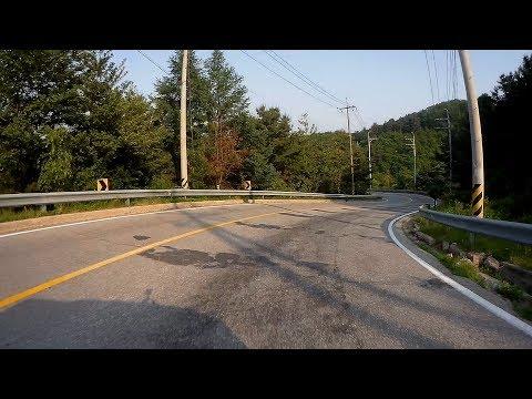 Scenic Drive  Korea national highway 86 (86번국도 설악IC - 널미제고개 - 한덕교) Onboard Front View