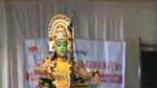 kerala art form tullal dance presentation