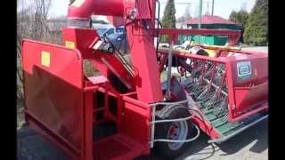 Kombajn do porzeczek Arek-3 ( Harvester for currants ) - producent SFAMASZ