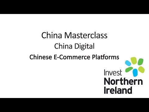 China Masterclass | China Digital | Chinese E-Commerce Platforms #6