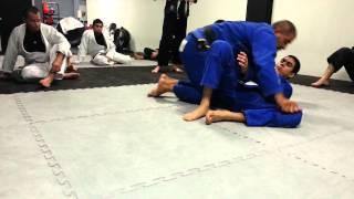10/25/12 Single leg guard: Tomahawk & Simple Sweep