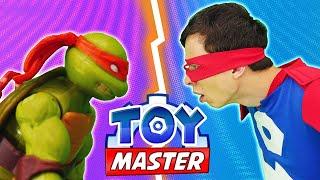Видео игры для мальчиков - Черепашки Ниндзя против Той Мастера! – Шоу для мальчиков.