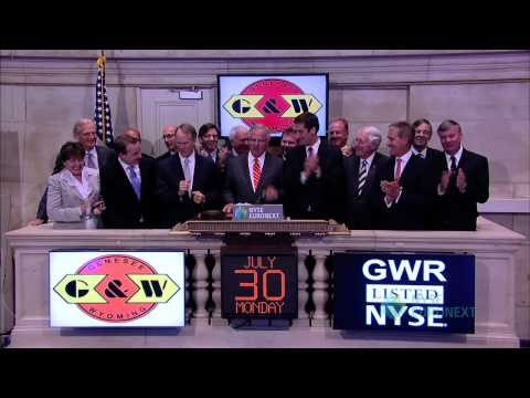 Genesee & Wyoming Celebrates 10 Years of Trading on the NYSE