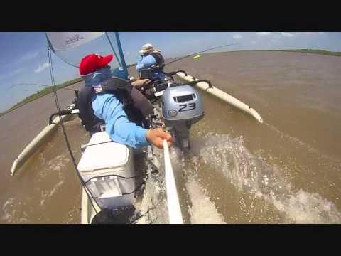Offshore Kayak Fishermen Moto Sailing Hobie Tandem Island