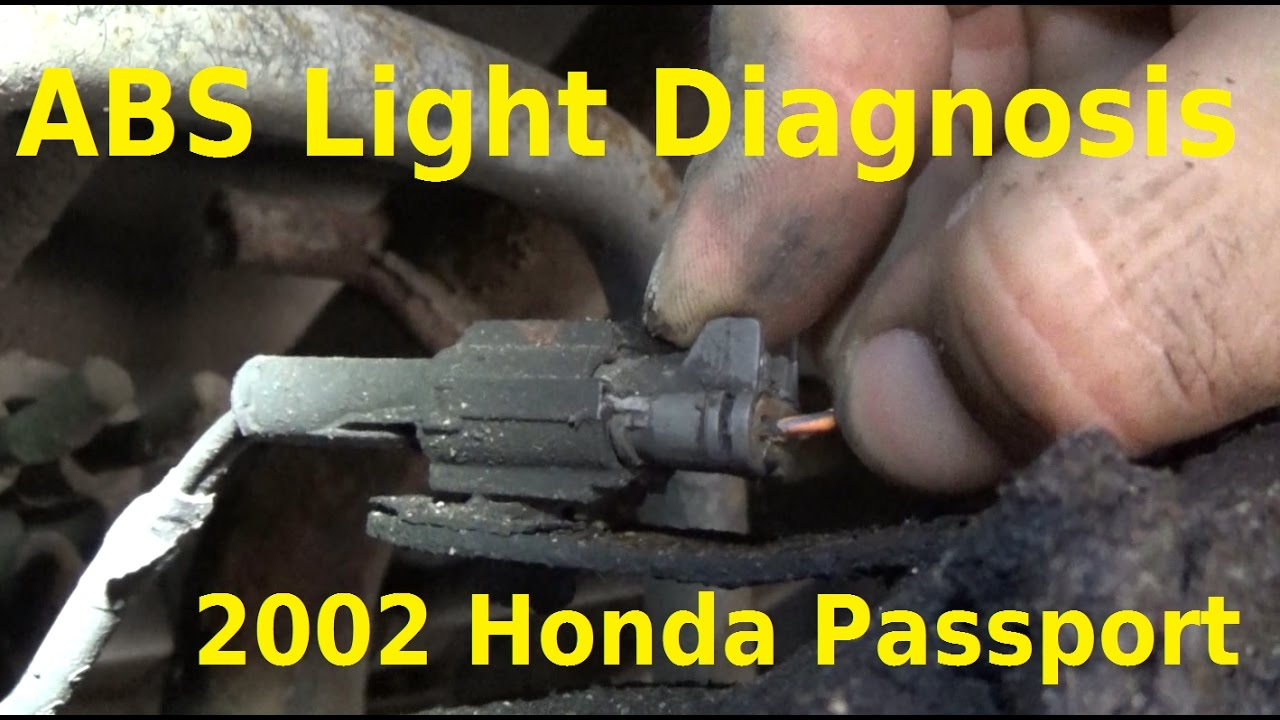 hight resolution of 2002 honda passport abs light diagnosis automotive education