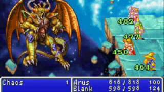Final Fantasy 1 (GBA) Final Boss: Chaos