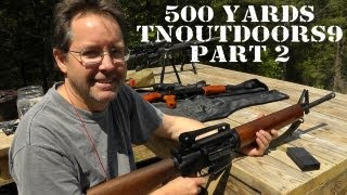 500 Yards with tnoutdoors9 - Part 2 - First Shot with Funky AR