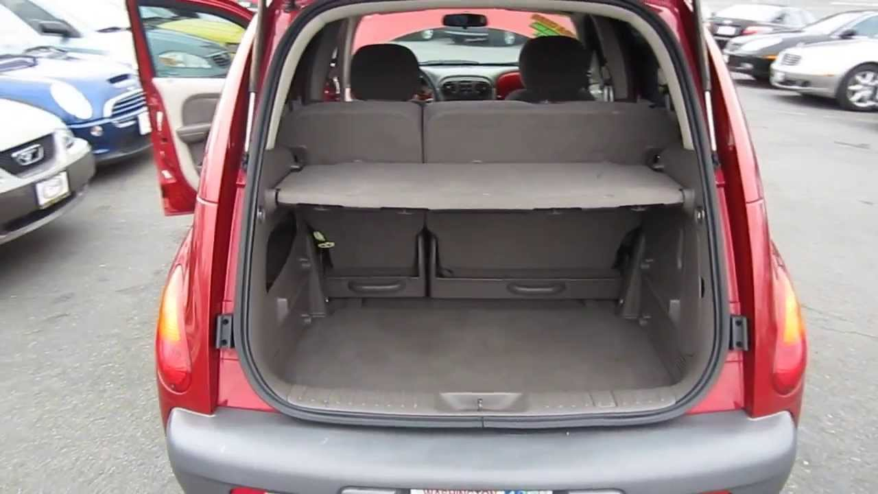 Delightful 2002 Chrysler PT Cruiser, Red   STOCK# L267593   Interior And Engine Gallery