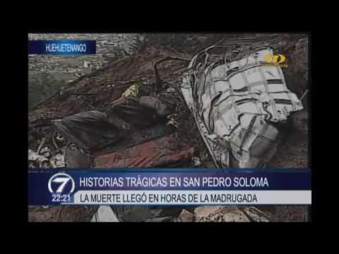 Las trágicas historias que dejó el derrumbe de San Pedro Soloma