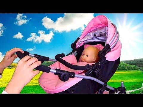 Baby Doll Stroller Pram Toys! 🎀